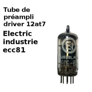 12at7 ecc81 Electric industrie