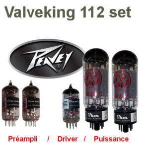 Set de retubage, réparation, pour un Peavey Valveking 112