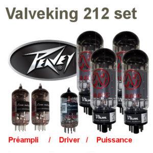 set de retubage, répararation pour peavey valveking 212 Peavey