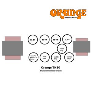 Set de retubage pour ampli TH30 Orange